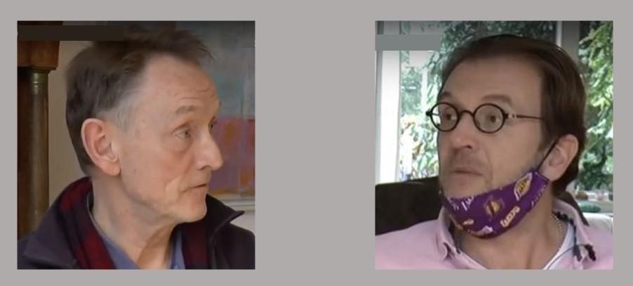 Willem Bertels en Peter Bracht
